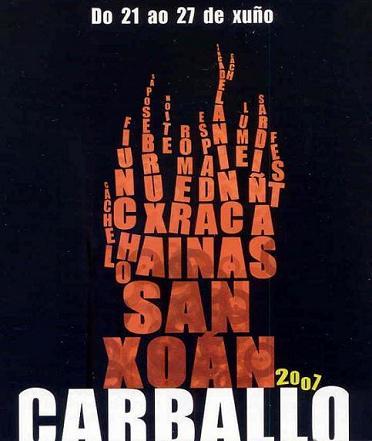 FRANC3S EN LA REVISTA DE LAS FIESTAS DE SAN XOAN 2007