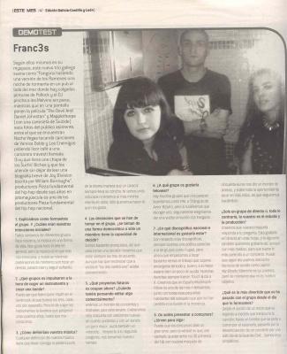 entrevista a franc3s en Mondosonoro