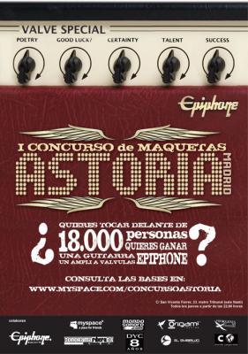 Nos vamos a Madrid, a la fase final del I concurso de maquetas astoria