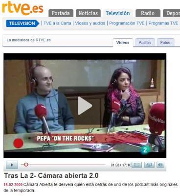 franc3s en cámara abierta 2.0 de La 2