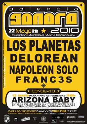 CONCIERTO EN EL PALENCIA SONORA 2010