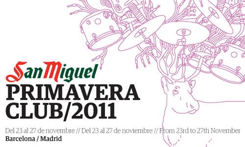 NOS VAMOS AL PRIMAVERA CLUB 2011