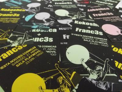 IV Fiesta Noches Cósmicas: KOKOSHCA + FRANC3S